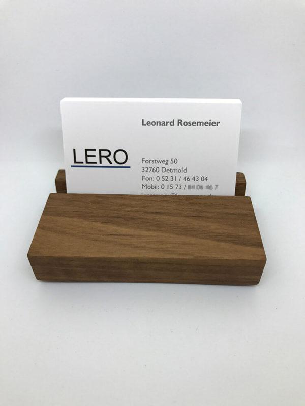 Visitenkartenständer Aus Holz